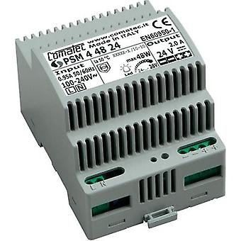 Comatec PSM4/48.24 48W Din Rail Power Supply Vdc 2A