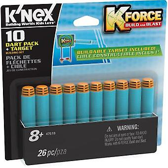 K'nex Kforce Darts Pack 10 Units (Toys , Constructions , Characters And Animals)