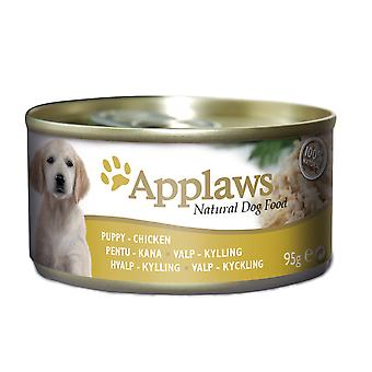 Applaws Dog Can Puppy Chicken 95g (Pack of 12)