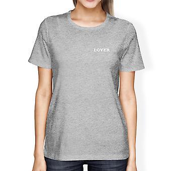 Geliefde vrouw Heather Grey T-shirt Cute Design creatieve cadeau-ideeën