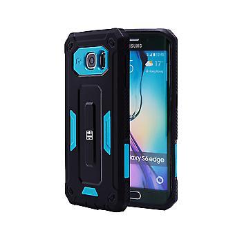 32nd hårt Defender case för Samsung Galaxy S6 Edge (SM-G925) - Deep Blue