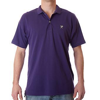 Detronisere klar Polo skjorte - lilla