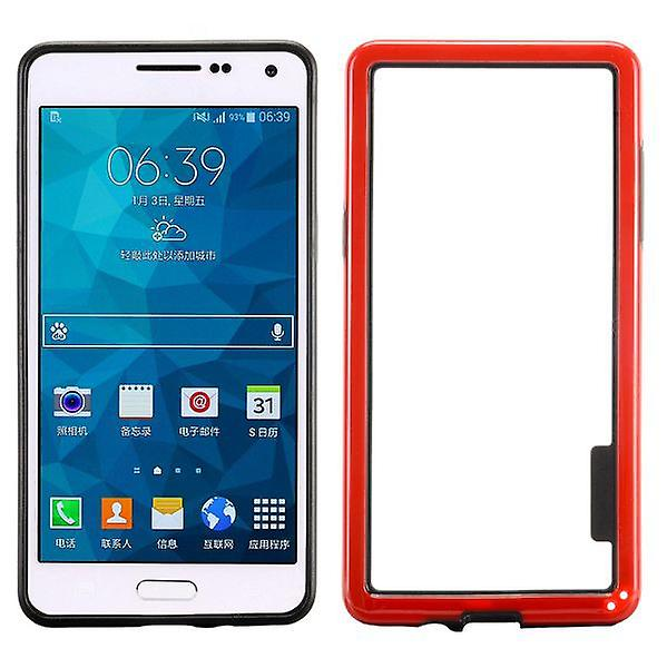 Hybrid bumper red for Samsung Galaxy A5 A500 A500F