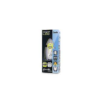 3R2/I1: E27 Full glass 4.5W eq. to 40W 2700K 470Lm Filament Dimmable 330� clear. ILCANDE27DC042