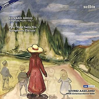 Grieg / Aadland / Wdr Sinf Koeln - Comp Symphonic Works Vol. 1 [Vinyl] USA import