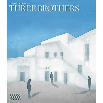 Tre brødre [Blu-ray] USA import