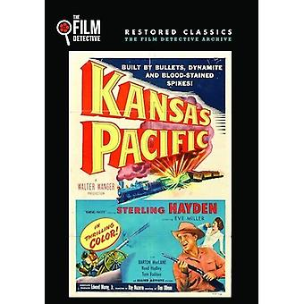 Kansas Pacific [DVD] USA importerer