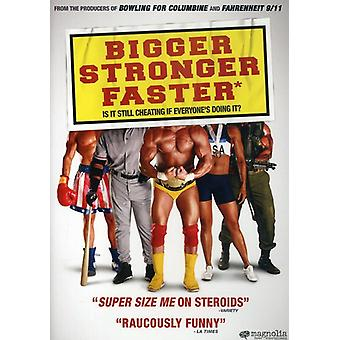 Bigger Stronger Faster [DVD] USA import