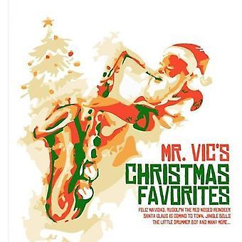 Mr. Vic - importação de Natal favoritos [CD] EUA do Sr. Vic