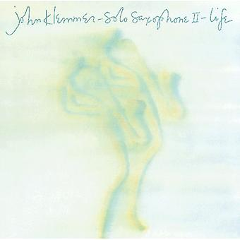 John Klemmer - Solo saxo II: Importación de Estados Unidos de la vida [CD]