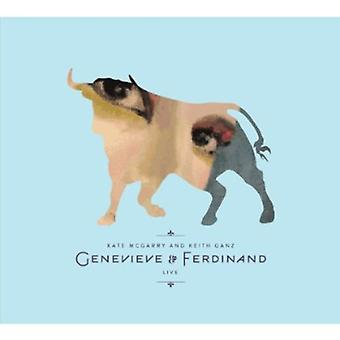 McGarry, Kate & Ganz, Keith - Genevieve & Ferdinand [CD] USA importerer