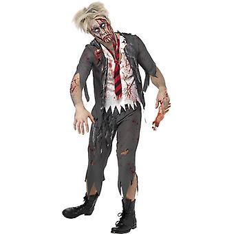 Zombie schoolboy school boy costume Halloween