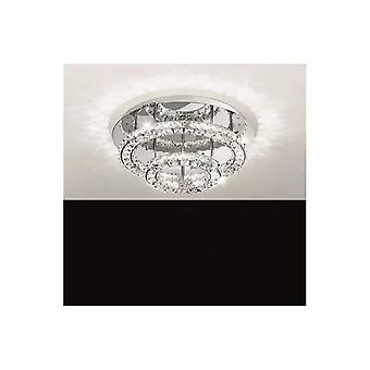 Eglo TONERIA Crystal Ring Multi Layered Ceiling Light (Small)