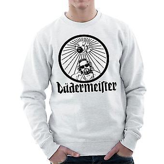 Dudermeister de Dude Jägermeister de Big Lebowski mannen Sweatshirt