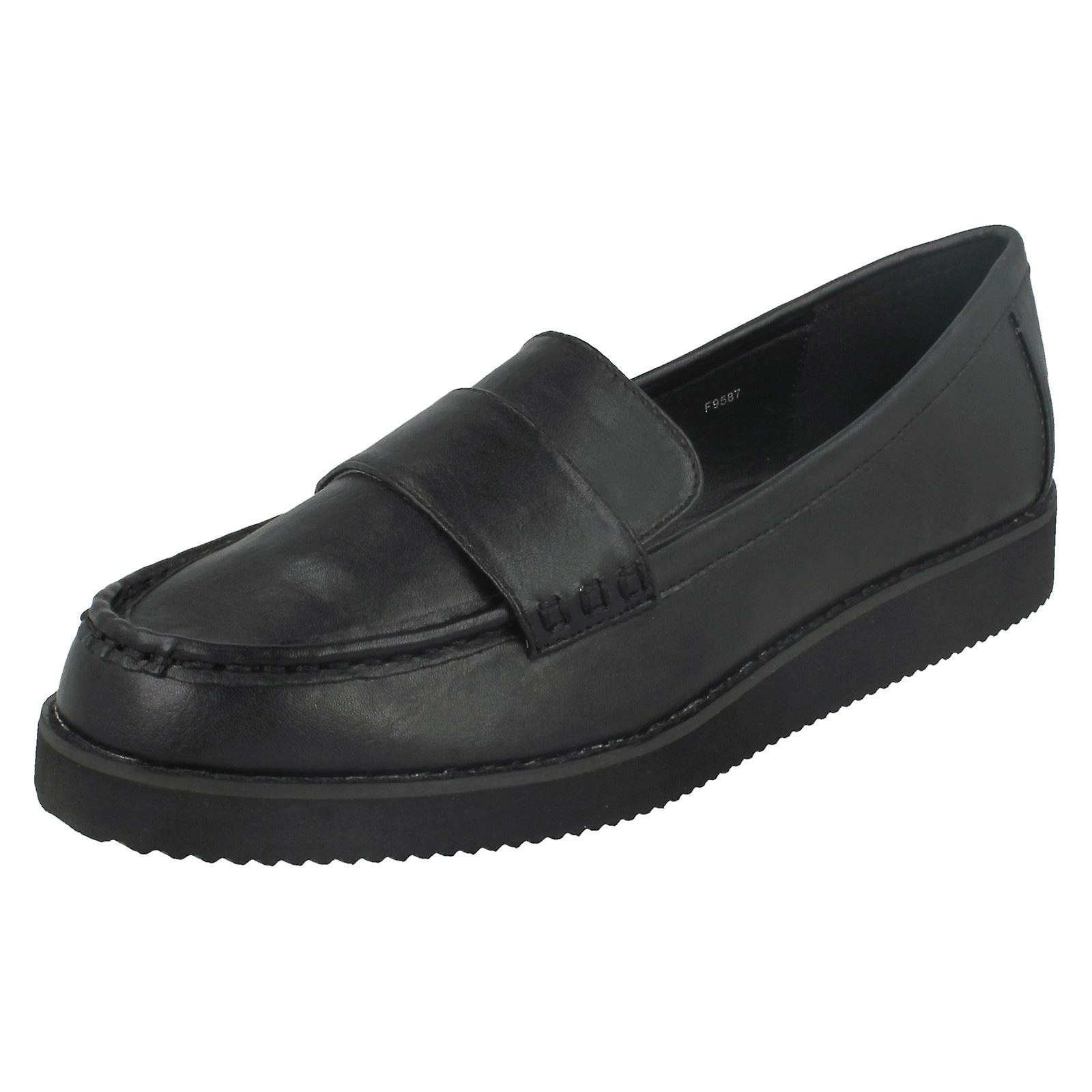 Damen-Spot auf Sattel Trim dicke Sohle Schuh