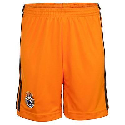 2013-14 Real Madrid Adidas 3rd Shorts (Orange)