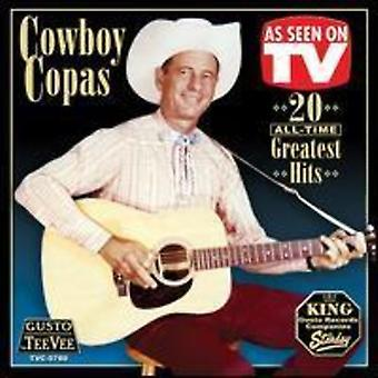 Copas Cowboy - 20 All-Time Greatest Hits CD] USA importerer