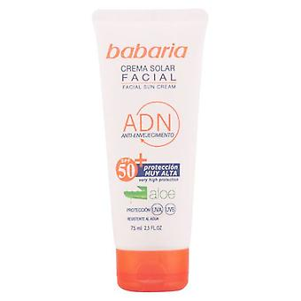 Babaria Aloe Facial Sun Cream F-50 (Woman , Cosmetics , Sun Care , Protectors)