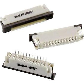 Receptacles (standard) ZIF FPC Total number of pins 10 Würth Elektronik 68611014422 Contact spacing: 1 mm 1 pc(s)