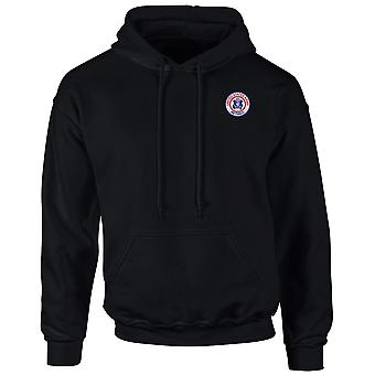 United States Army Retired Embroidered Logo - Hoodie