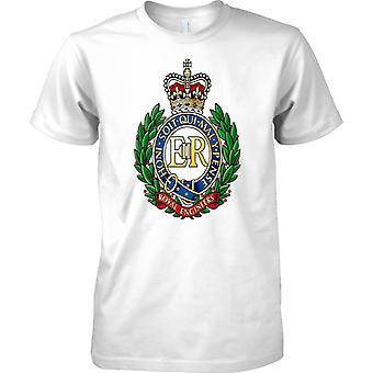 Licensed MOD -  British Army Royal Engineers Insignia - Kids T Shirt