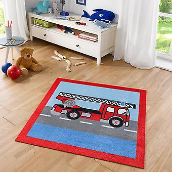Soft suede for kids fire 100 x 100 cm. 102384