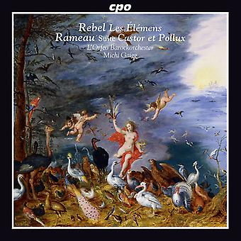 Rebel / Rameau - Les Elemens-Castor Et Pollux Suite [CD] USA import