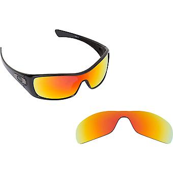 Best SEEK Replacement Lenses for Oakley ANTIX Red Silver Mirror Blue Mirror