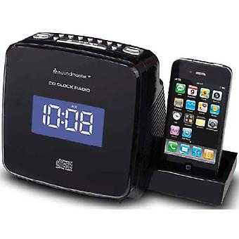 CD clockradio - MP3 med iPod dock - iPhone genopladelige. URD810IP