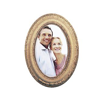 Bevelled Oval MDF Wood Photo Frame to Decorate - 19cm by 14cm