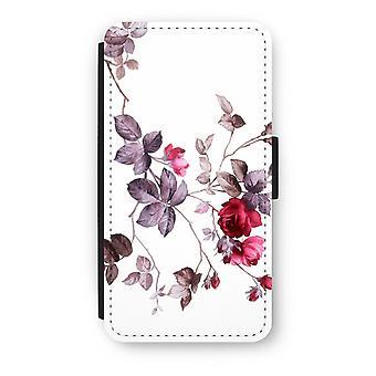 iPod Touch 6 Flip Case - Pretty flowers