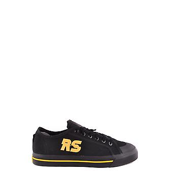 Adidas by RAF of Simons's men's BB6727CBLACKCORYEL black cloth of sneakers