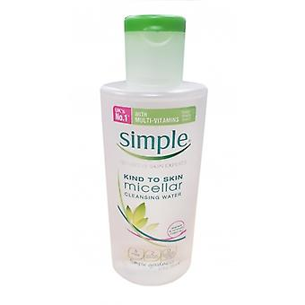 Simple Kind To Skin Micellar Cleansing Water