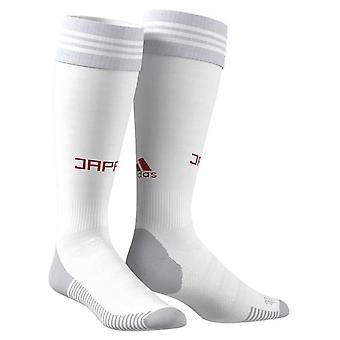 2018-2019 Japan Away Adidas Socks (White)