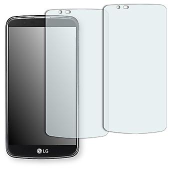 LG K10 display protector - Golebo Semimatt protector (deliberately smaller than the display, as this is arched)