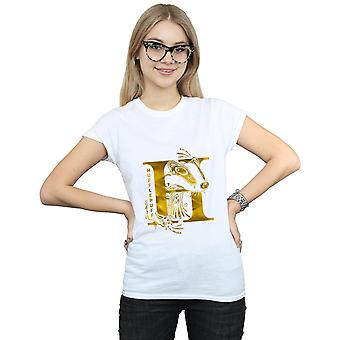 Harry Potter Women's Hufflepuff Badger T-Shirt