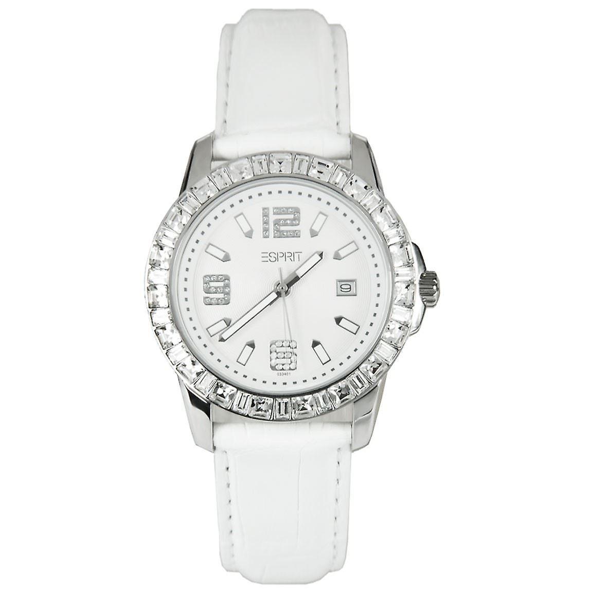 Esprit noir Watch blanc Spark