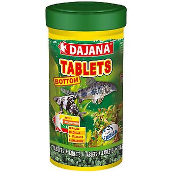 Dajana Pastillas Peces Fondo 100ml (Fish , Food , Warm Water)