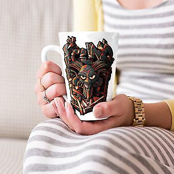 Animowane diabeł Horror nowy Biała herbata kawa Latte ceramiczny kubek 17 oz   Wellcoda