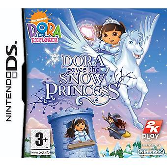 Dora Explorer Dora rettet die Schneeprinzessin (Nintendo DS)