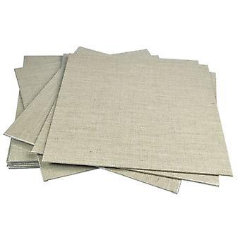 Pebeo linned lærred bord på 30 x 30cm