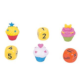 ZooBooKoo Cup Cake Dice High Score Game - Level 2 - Mental Mathematics Games