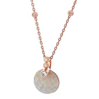 Orphelia Silver 925 Pendant With Mosaic Opal (Zk-7200/Rg)  ZH-7231/RG