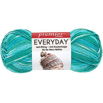 Deborah Norville Collection Everyday Print Yarn-Lagoon