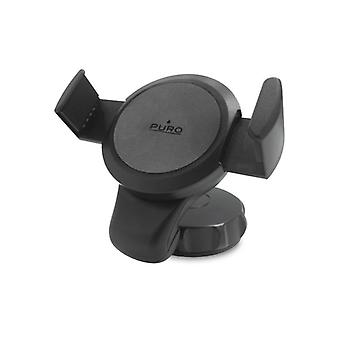 Puro In Car Holder Universal for windscreen/dashboard up to 6,3' Black