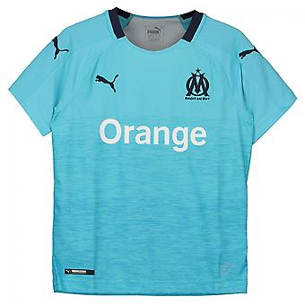 2018-2019 Olympique Marseille Puma Third Football Shirt (Kids)