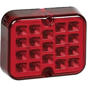 Lysene bak tåke lampe bak tåke lampe bak 12 V-rød