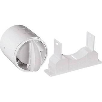 Backflow flap Suitable for pipe diameter: 10 cm Wallair N40819 White