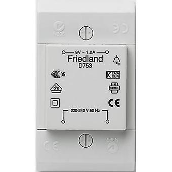 Friedland D753 Bell transformer 8 V AC 1 A