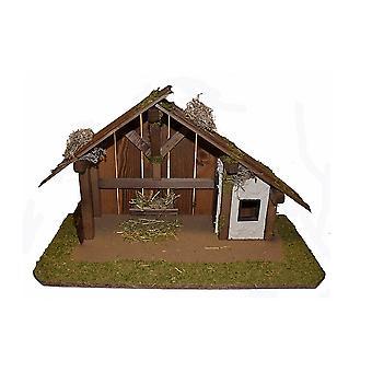Wieg kliniek houten wieg Nativity kerst Nativity testing